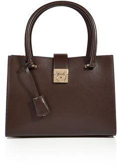 Salvatore Ferragamo Leather Juliette Tote