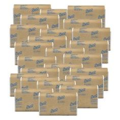 Scott C Fold Paper Towels 10 x 13 60percent Recycled White 200 Towels Per Sleeve Case Of 2400 Sheets - Office Depot How To Roll Towels, Fold Towels, Paper Towels, Eco Label, White Towels, Working Area, Recycled Materials, Recycling, Office Depot