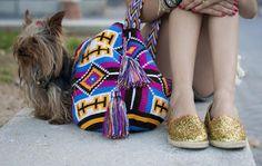 Tesourinha: Wayuu Bag em crochê