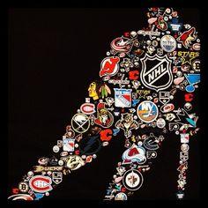 Go see an NHL hockey game Rink Hockey, Hockey Baby, Hockey Games, Hockey Helmet, Hockey Logos, Nhl Logos, Hockey Quotes, Sports Logos, Montreal Canadiens