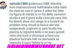Salvatore di Carlo e Alessandro Muriglio su facebook volano parole davvero molto pesanti fra i due corteggiatori di Teresa Cilia