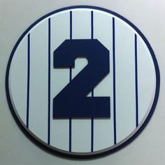 Derek Jeter Retired Number plaque 2 #yankees #DerekJeter #NYY #retirednumber #plaque
