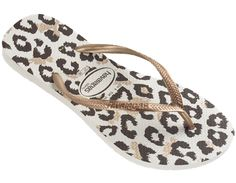 ca7f4b9c995a11 May need to add these cougar print Havaianas flip flop to my shoe closet  soon
