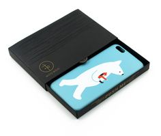 Exquisite package Cute polar bear iphone6s / Plus Case PU leather, adopted high quality PU leather