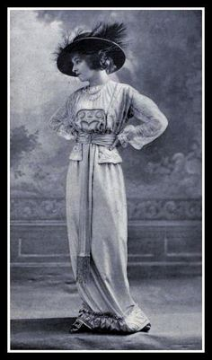 1912 Edwardian Fashion By CharmaineZoe on Flickr