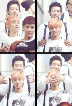 Chanyeol and Luhan