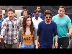 Shahrukh Khan & Alia Bhatt spotted at Mehboob Studio, Mumbai.
