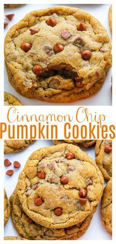 Pumpkin Cookies, Pumpkin Dessert, Pumpkin Cheesecake, Cinnamon Cookies, Fall Cookies, Christmas Cookies, Yummy Treats, Sweet Treats, Yummy Food