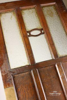 Reclaimed Multi Panel Glazed Oak Door