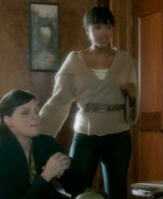 Olivia Pope's camel wrap sweater  Ralph Lauren Blue Collection