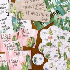 CACTUS Classroom Labels + Signs Pack – you clever monkey Classroom Bunting, Classroom Door Displays, Classroom Labels, Classroom Organisation, Classroom Themes, Inspirational Classroom Posters, Green Theme, Pink Themes, School Themes