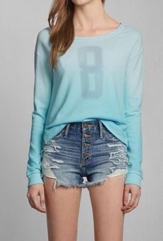 Tori Sweatshirt. Shorts are ugly though.