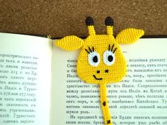 This Pin was discovered by Neş Crochet Bookmark Pattern, Crochet Case, Crochet Bookmarks, Crochet Gifts, Crochet Dolls, Knit Crochet, Knitting Patterns, Crochet Patterns, Book Markers