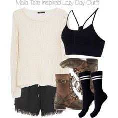 Teen Wolf - Malia Tate Inspired Lazy Day Outfit