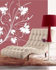 LILLY FLOWERS Wall Art Decal от IDgrams на Etsy