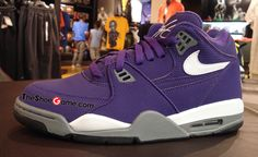 competitive price e804a 9b44f Nice Sacramento Kings Yurple ones! Nike Air Flight, Sacramento Kings, Air  Max Sneakers