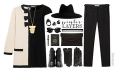 """Black Layers + Moschino"" by vania-hefira ❤ liked on Polyvore featuring Topshop, Jimmy Choo, Ted Baker, J.Crew, Smythson, Yves Saint Laurent, Givenchy, Boutique Moschino, Vanessa Bruno and Lady Grey"