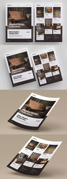 Furniture Promo Flyer by micromove on Envato Elements Catalogue Layout, Ad Layout, Flyer Layout, Print Layout, Layout Design, Design Brochure, Brochure Layout, Furniture Brochure, Furniture Ads