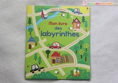 mon livre des labyrinthes usborne
