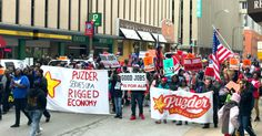 For the third time since anti-worker fast food CEO Andy Puzder's nomination for Labor Secretary was announced, fast food workers are flooding the streets in protest.