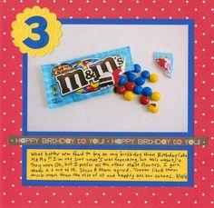 Cindy deRosier: My Creative Life: 43 New-to-Me... #3 Birthday Cake M&Ms