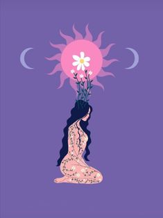 Witchy Wallpaper, Hippie Painting, Meditation Art, Spirited Art, Hippie Art, Moon Art, Brainstorm, Psychedelic Art, Aesthetic Art