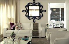 Sala com simplicidade e aconchego