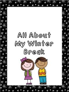 I was in need of an activity for coming back to school following our winter break. My school provides a rigorous learning environment which sometimes adds difficulty in allowing students to have ample time to share their experiences. This file was created with the realization that students need time to talk and share.