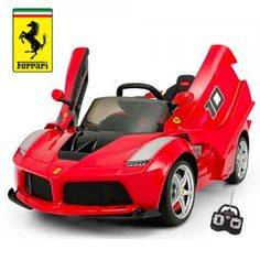 ...For when you little ones just needs to have their own Battery Powered Ferrari to ride around in!