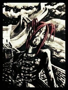 Gothic Maori Vampire