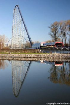 Millennium Force Coaster Photos - Cedar Point