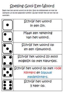 Spelling oefenen onderbouw/middenbouw