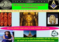 Get all the information you need on joining the illuminati society, including meeting agent kim. Phone +27 62 154 3394 email: Shiruttshibba@gmail. .... Step1. ....