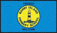 Barry Island School Mat. Customised door mat.