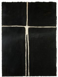 space, 1980 (oil & black pigment on paper 38 x 28 cm) / anthony gormley Robert Motherwell, Black Pigment, Antony Gormley, A Level Art, Installation Art, Art Installations, Op Art, Contemporary Paintings, Black Art