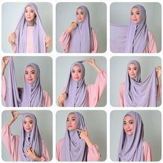 I have collected hijab styles step by step tutorial. It consists of steps required to wear beautiful hijab styles. These steps for hijab styles are easy. Muslim Dress, Hijab Dress, Hijab Outfit, Turban Hijab, Swag Dress, Tutorial Hijab Pashmina, Scarf Tutorial, Simple Hijab Tutorial, Hijab Style Tutorial