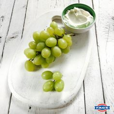 Plump, juicy grapes pair perfectly with a creamy bowl of FAGE Total.