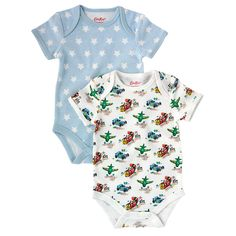 Transport Pack of 2 Baby Bodysuits | View All | CathKidston