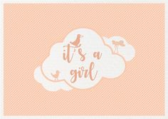 It's A Girl ~ Mint & Mail