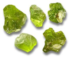 Chrysolite was the name used in the ancient world for many gold and greenish-yellow gemstones, especially peridot, learn more about chrysolite gemstones Peridot Color, Cool Rocks, Mineral Stone, Rocks And Gems, Rocks And Minerals, Gemstone Colors, Birthstones, Gemstones, Gothic Steampunk