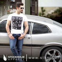 """Stockholm tee""  STOCKHOLM CO.  envíos a toda la República tu pago por oxxo o tarjetas,  10% de descuento con el código STKGRAM www.stkm.co  #streetwear #clothing #playera #modaurbana #apparel #stockholmapparel #urban #men #girl #tee #fashionblogger"