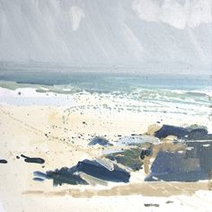 Porthmeor in March | Lucie Bray