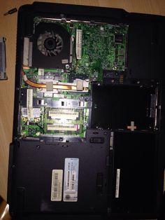 Gecrashte laptop op de operatietafel...