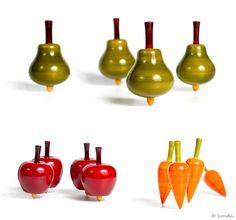 spinning fruits/veggies