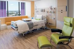 Patient rooms were designed to be universal to allow the for Rooms to go kids san antonio