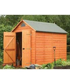 Buy Rowlinson Security Garden Shed - 8 x 6ft at Argos.co.uk, visit Argos.co.uk to shop online for Sheds