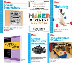 Great Collection of Notable Maker Books!