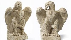 London - Archaeologists have discovered an extraordinary Roman sculpture in the form of an eagle firmly grasping a writhing serpent in its beak - Specialists have now confirmed that the sculpture dates to the 1st or 2nd century AD.