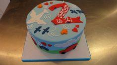 Cars & Plane transportation Cake   Flickr - Photo Sharing!