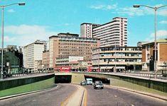 The Underpass in Croydon Surrey England in the British Architecture, London Architecture, Old London, East London, Thornton Heath, Suffolk House, Croydon London, Council Estate, London Neighborhoods